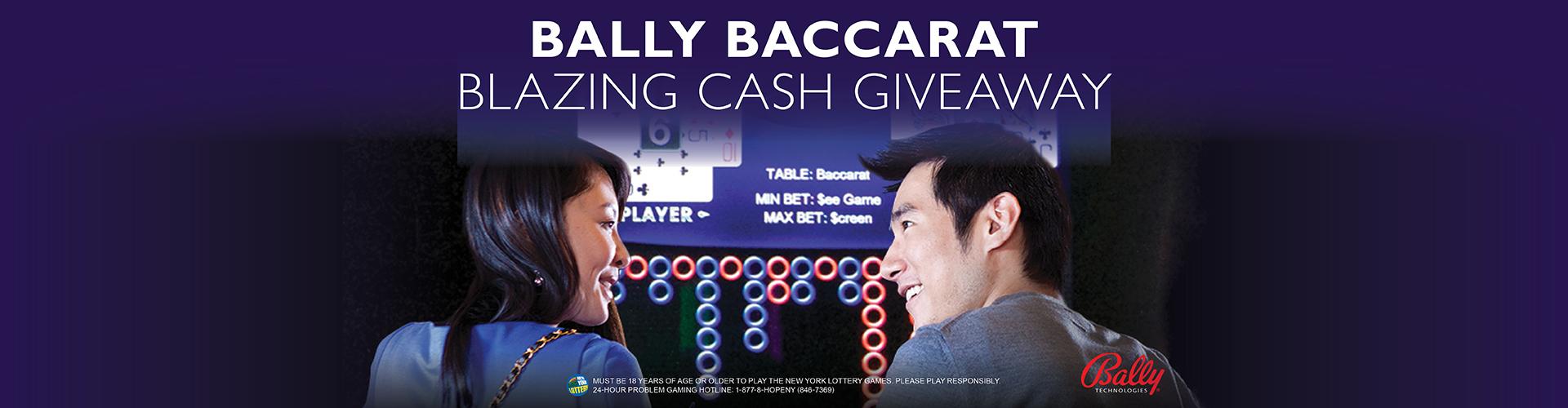 Bally Baccarat Blazing Cash