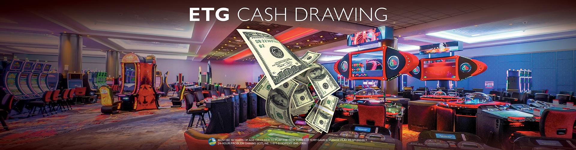 ETG Cash Drawing