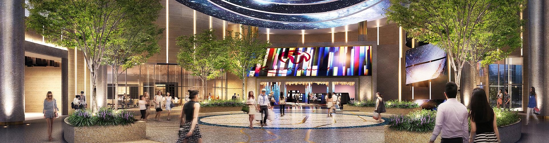 Resorts World NYC Grand Lobby