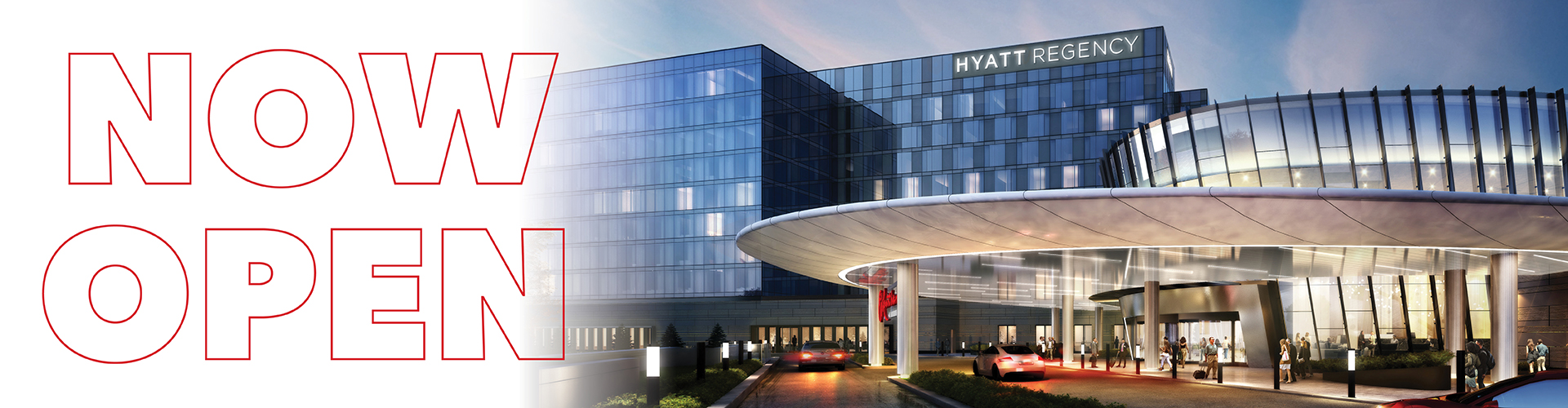 Hyatt hotel now open